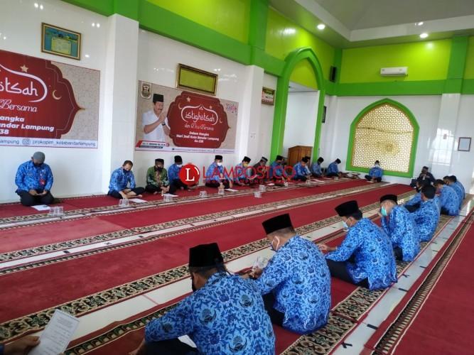 HUT Ke-338, Pemkot Bandar Lampung Gelar Istigasah