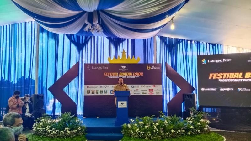 HUT Ke-46, Gubernur TantangLampung Post Kawal Pembangunan