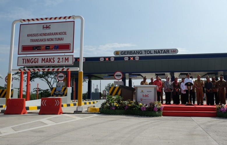 Hutama Karya Tegaskan Pembangunan JTTS Rampung 2024