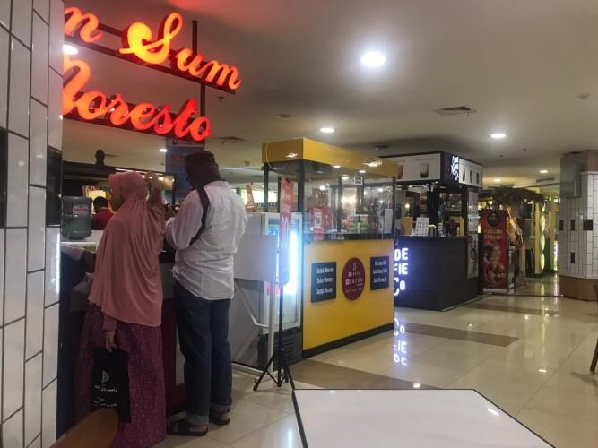 <i>Food Court</i> Mal di Lampung Terapkan Protokol Kesehatan