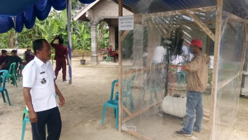 <i>Kegigihan Satgas Desa Melawan Korona</i>