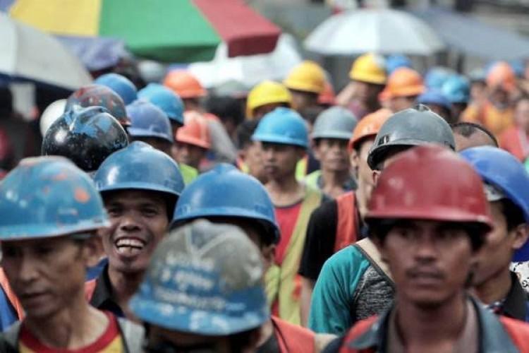 <i>May Day</i>, Jangan Ada Penindasan Buruh dan Tolak <i>Omnibus Law</i>