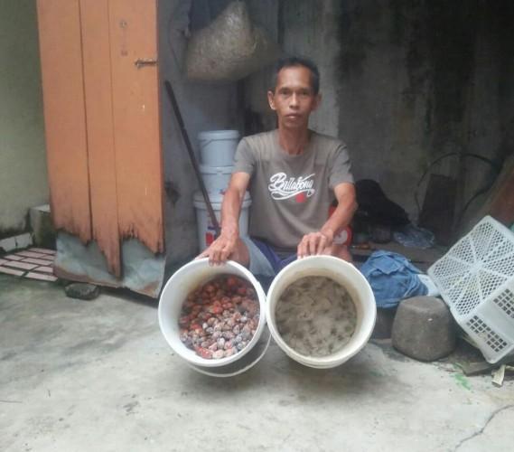<i>Mengail Laba dari Usaha Pembuatan Umpan Ikan</i>