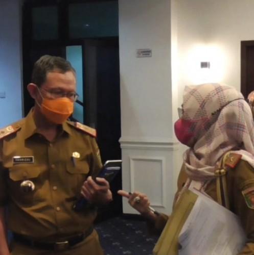 <i>Scan</i> Aplikasi <i>PeduliLindungi</i> Jadi Syarat Masuk Kantor Pemprov Lampung
