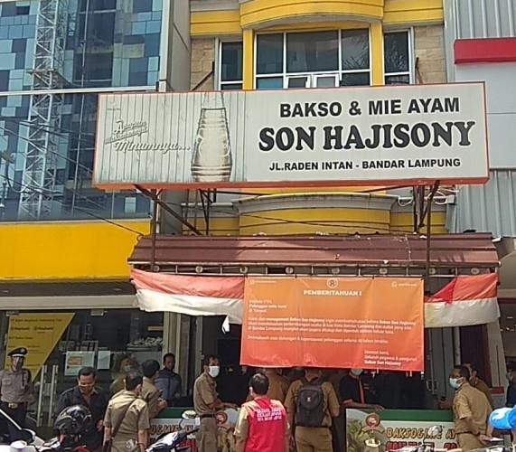 <i>Win-win Solution</i> Pemkot Bandar Lampung dan Bakso Sony Diumumkan Hari Ini