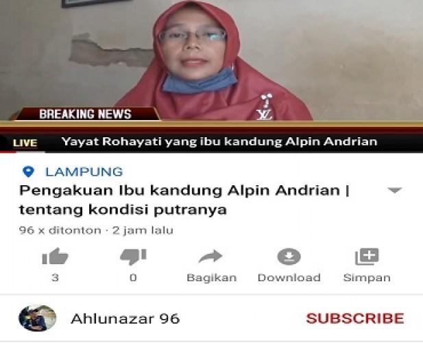 Ibu Penikam Syeh Ali Jaber Sebut Anaknya Sempat Mau Bunuh Diri