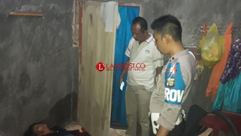 Ibu Rumah Tangga di Merbau Mataram, Tewas Luka Tergorok