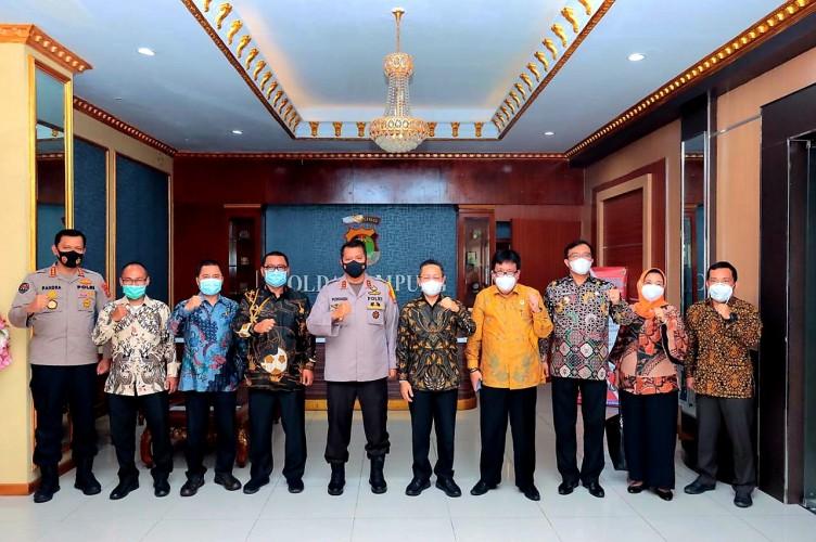 ICMI Lampung Bersama Kapolda Bahas FGD Refleksi Akhir Tahun