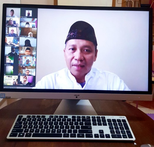 ICMI Lampung Helat Pengajian Virtual Jelang Idulfitri