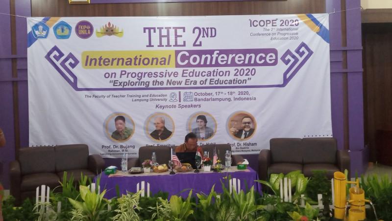 ICOPE FKIP Unila 2020 Bahas Pendidikan di Era Baru