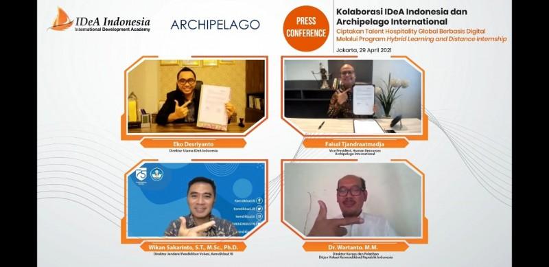 IDea Indonesia Dukung Penciptaan SDM Perhotelan Berbasis Digital