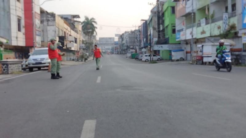 Iduladha Jalan Protokol Bandar Lampung Lengang