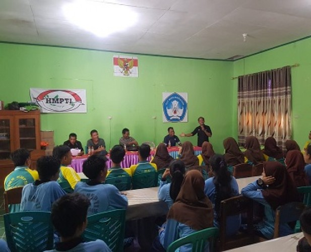 IJTI Lampung Latih 49 Siswa SMK HMPTI