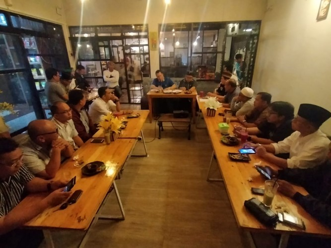 IKA PMII Lampung Konsolidasi Sukseskan Muktamar NU
