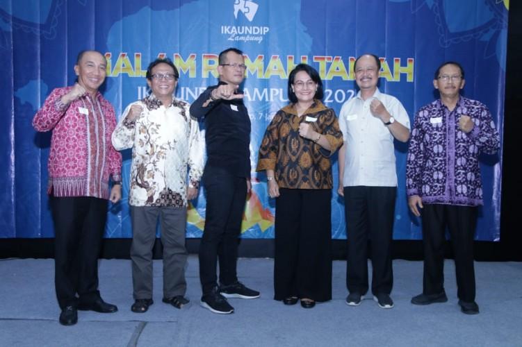 IKA UNDIP Lampung Siap Bersinergi Bangun Daerah