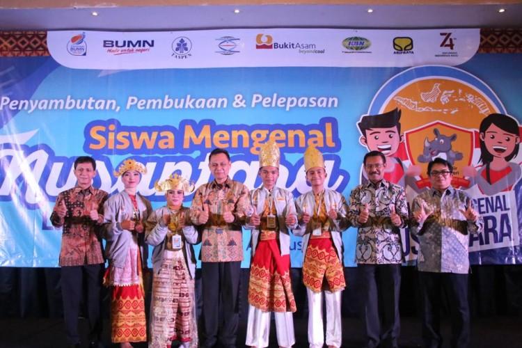 Ikuti SMN, 23 Siswa Lampung Berangkat ke Maluku Utara
