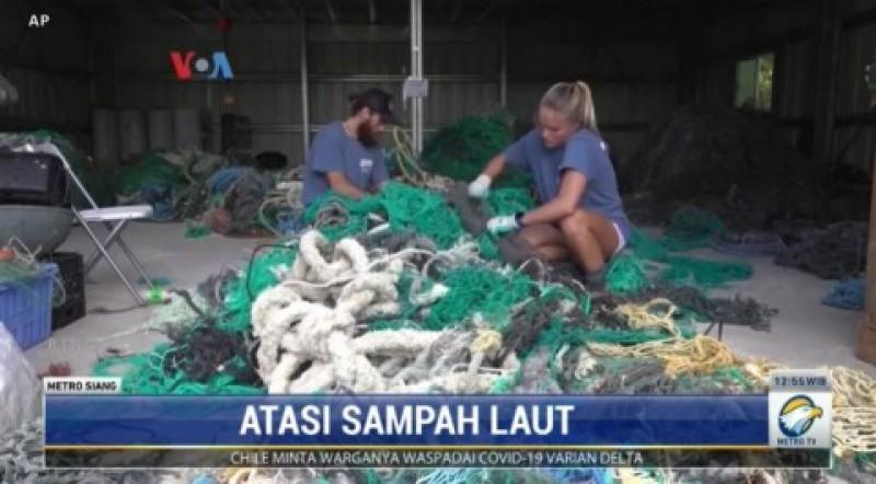Ilmuwan Hawaii Selidiki Asal Sampah Laut