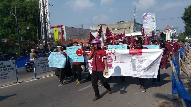 IMM Aksi Peringati Hari Kesaktian Pancasila ke DPRD