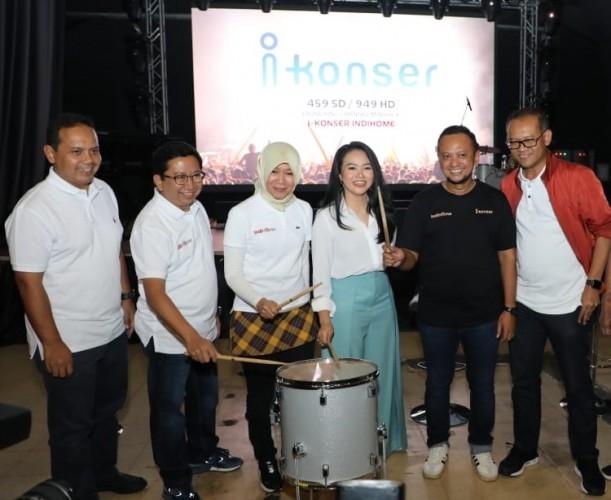 IndiHome Dukung Industri Musik melalui i-Konser Channel