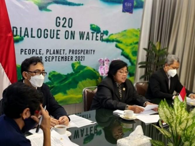 Indonesia Komitmen Jaga Kelestarian Sumber Daya Air