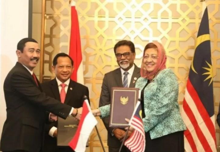 Indonesia-Malaysia Sepakat Tentang Batas Negara