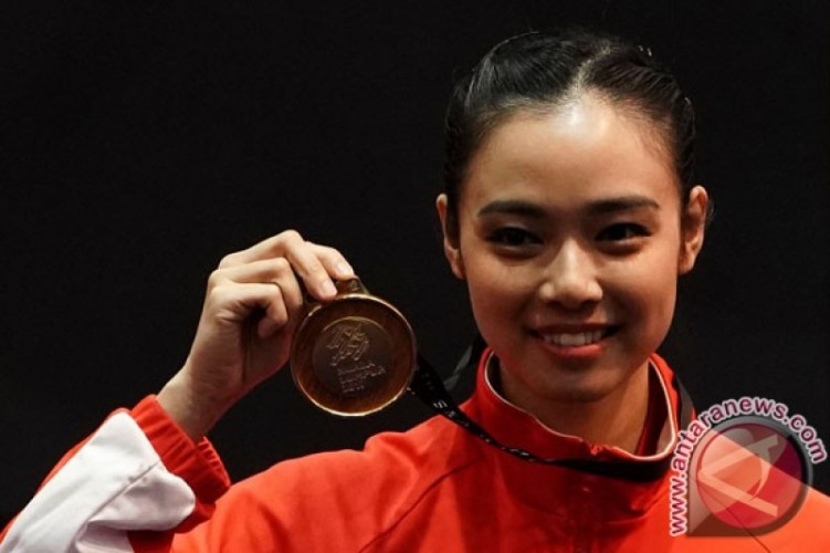 Indonesia Raih Emas Cabang Olahraga Wushu Asian Games