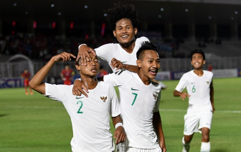 Indonesia Tekuk Hong Kong di Kualifikasi Piala Asian U-19