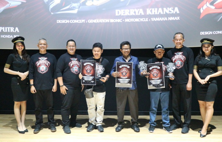 Ini 3 Pemenang MBtech Online Design Contest Riding With Style Awards 2019