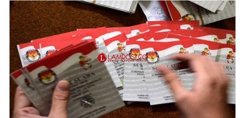Ini Hasil Rekapitulasi Pilpres 2019 di Provinsi Lampung