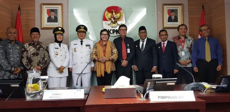 KPK: Arinal-Nunik Jadi Agen Antikorupsi