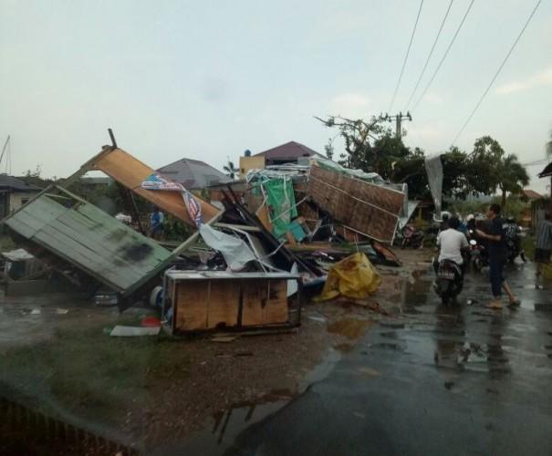 Ini Penjelasan BMKG Terkait Puting Beliung di Wilayah Sukarame
