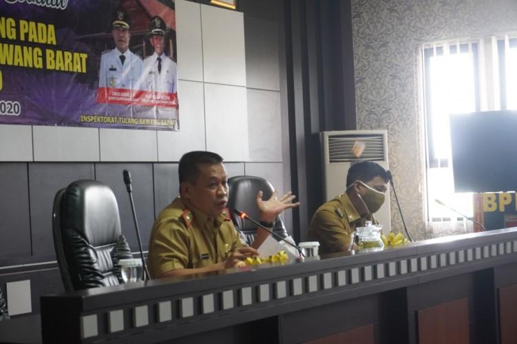 Inspektorat Provinsi Kumpulkan OPD Pemkab Tubaba