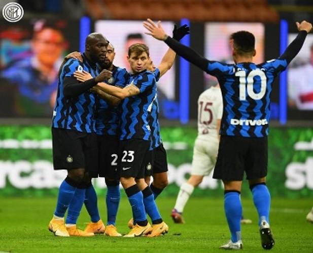 Inter Milan Comeback untuk Hantam Torino