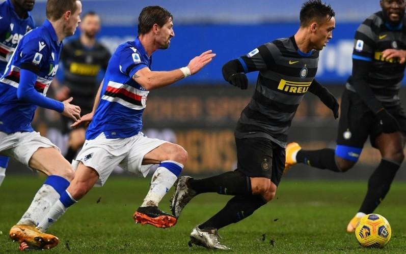 Inter Milan Tersungkur di Kandang Sampdoria