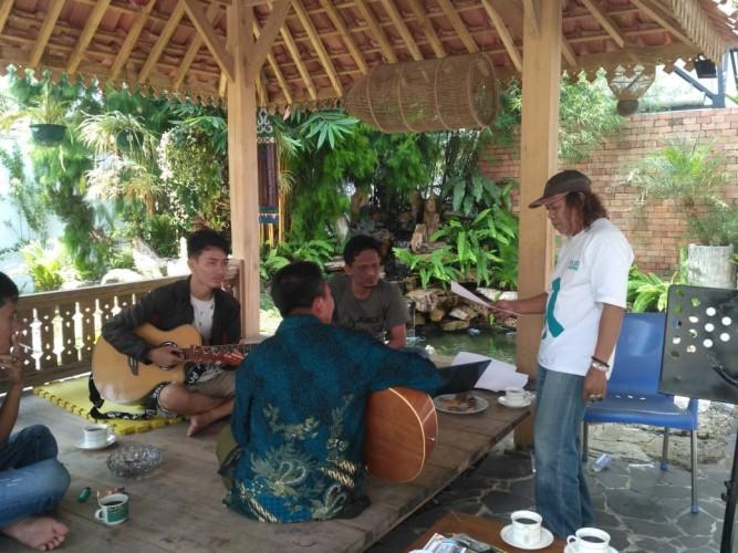 Isbedy Kolaborasi Musisi Tubaba ke Batam