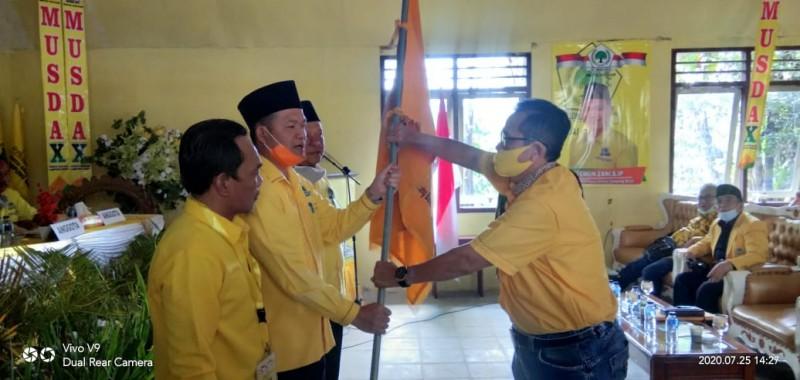 Ismun Zani Kembali Pimpin Golkar Lampung Barat