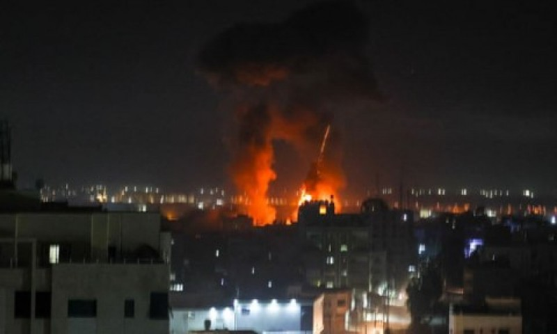 Israel Lancarkan Serangan Udara Baru ke Gaza, Gencatan Senjata Berakhir