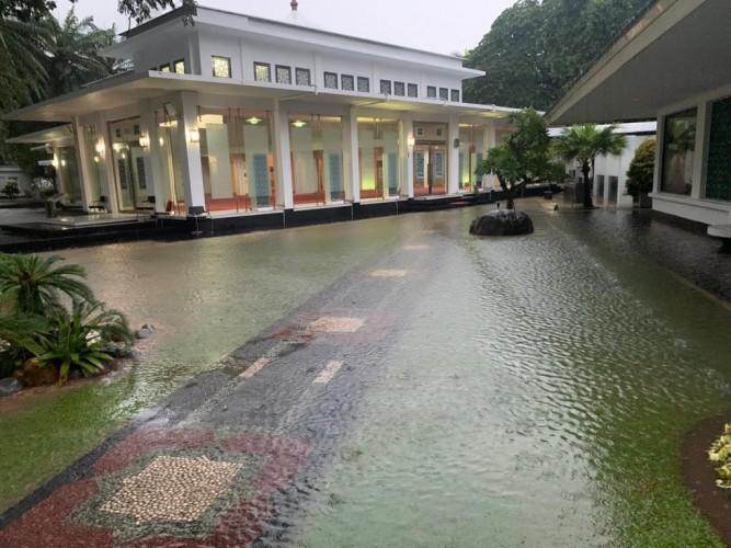 Istana Presiden Ikut Kebanjiran