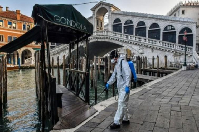 Italia Catat 919 Kematian akibat Covid-19 dalam Satu Hari