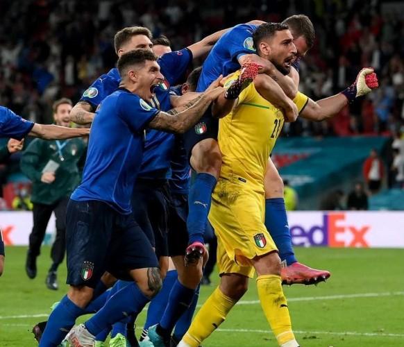 Italia Juara Euro 2020 Lewat Drama Adu Penalti