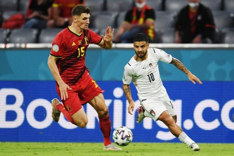 Italia Tantang Spanyol di Semifinal Usai Taklukkan Belgia