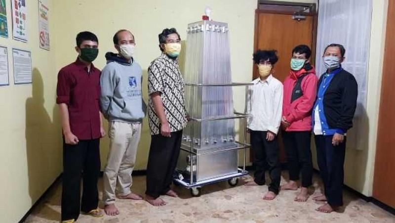 ITB Kembangkan Mobile Disinfektan untuk Bunuh Virus