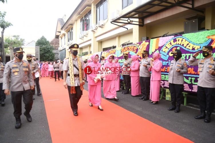Jabat Kapolda Lampung, Irjen Hendro Siap Jalankan Program 100 Hari Kerja Kapolri