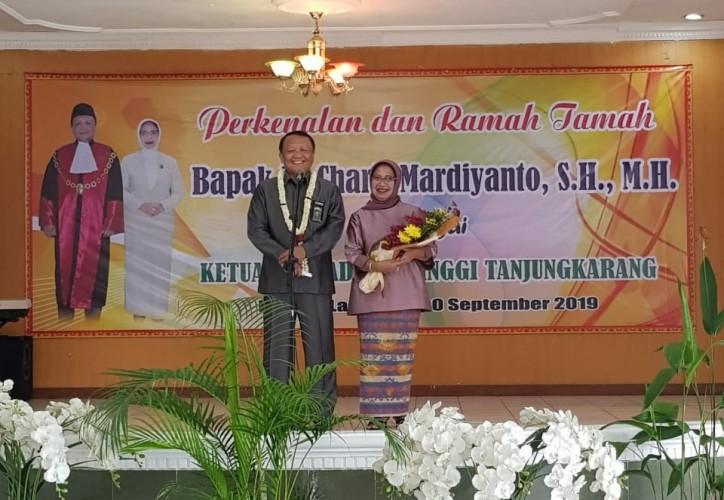Jabat Kepala PT Tanjungkarang, Charis Komit Beri Layanan Keadilan Modern dan Profesional