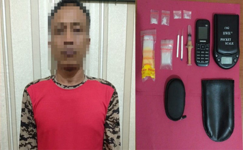 Jadi Bandar Sabu, ASN Pemkab Tulangbawang Dibekuk Polisi