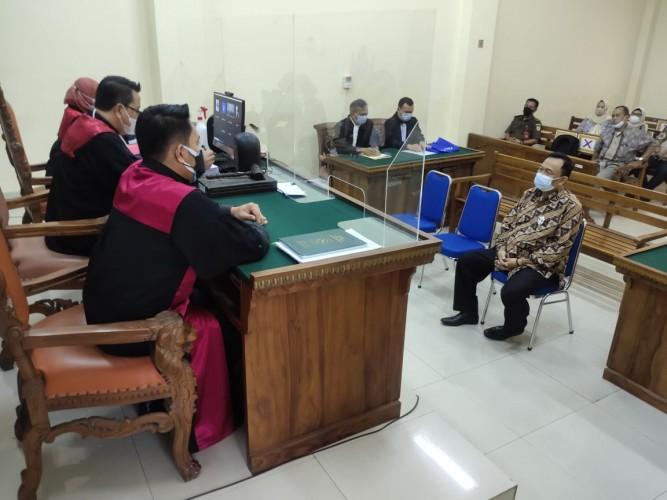 Jadi Calo Pajak, Ketua ICC Jalani Sidang di PN Tanjungkarang