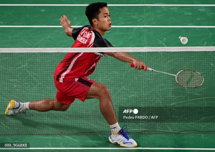 Jadwal Olimpiade Tokyo: Anthony Ginting Vs Chen Long