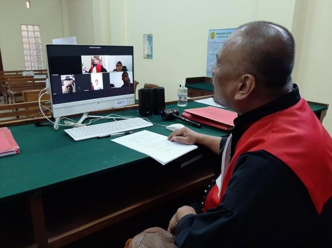 Jajakan Sabu, Warga Kemiling Dituntut 6 Tahun Penjara