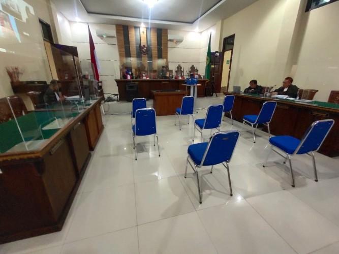 Jaksa KPK Ikuti Sidang Vonis Mustafa via Daring