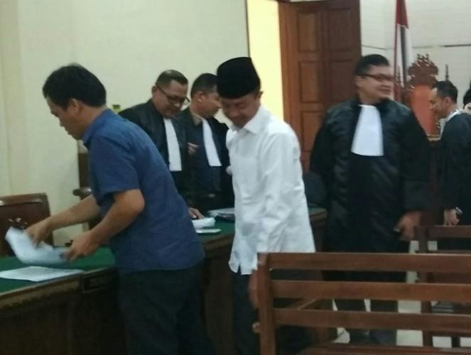 Jaksa KPK Tolak Eksepsi Hendra Wijaya Saleh